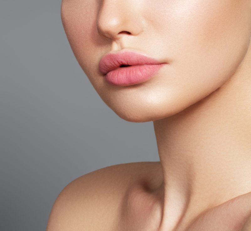 Woman Cosmetic Work Lips