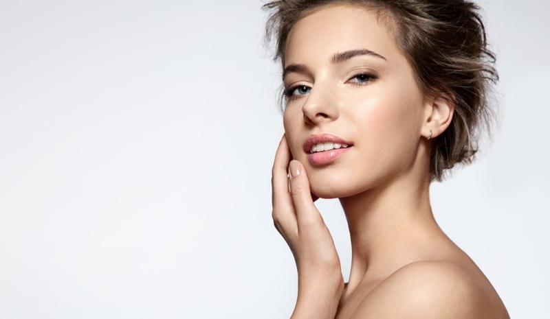 Woman White Teeth Beauty