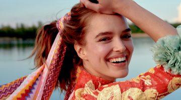 Zo Nowak Poses in Carefree Fashion for ELLE Poland