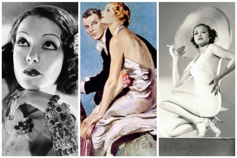 1930s fashion women trends