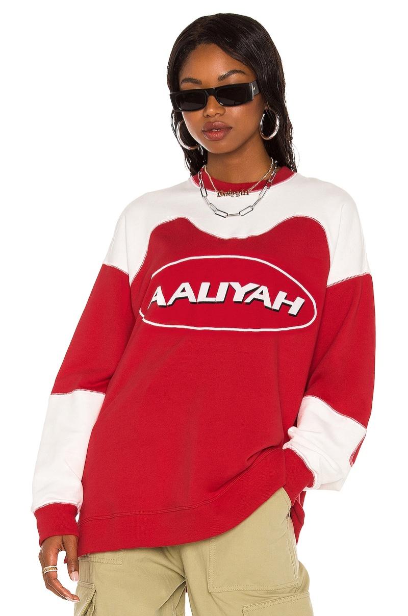 Aaliyah x Revolve Aaliyah Sweatshirt $178