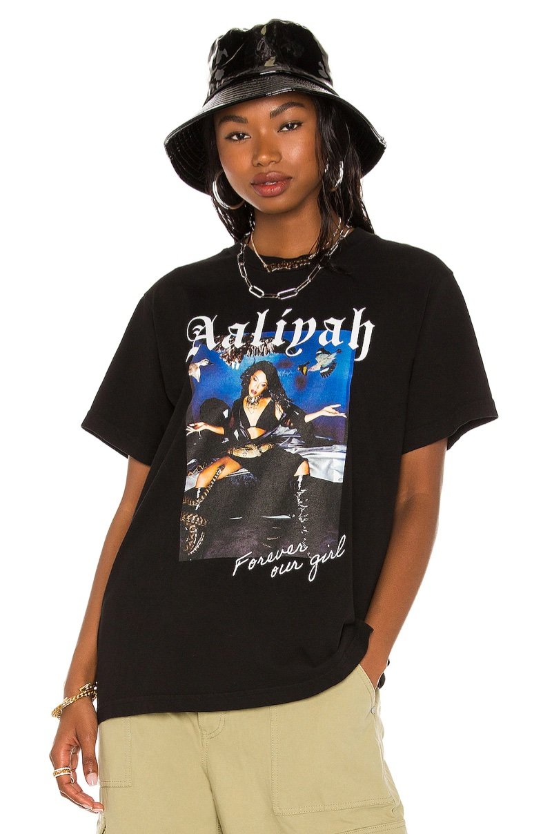 Aaliyah x Revolve Aaliyah Tee in We Need A Resolution $128