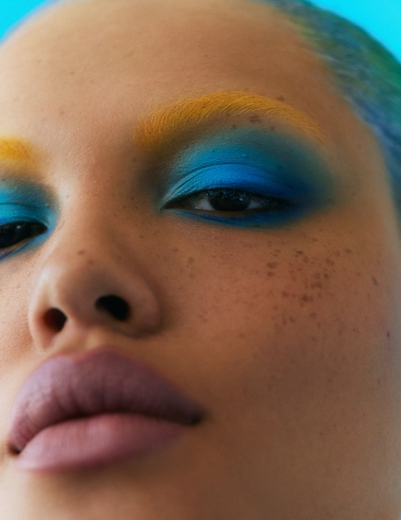 Alva Claire is Ready for Her Closeup in Vogue Thailand Beauty