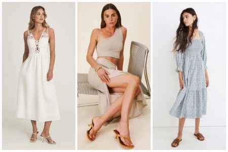 August 2021 women's outfit ideas.