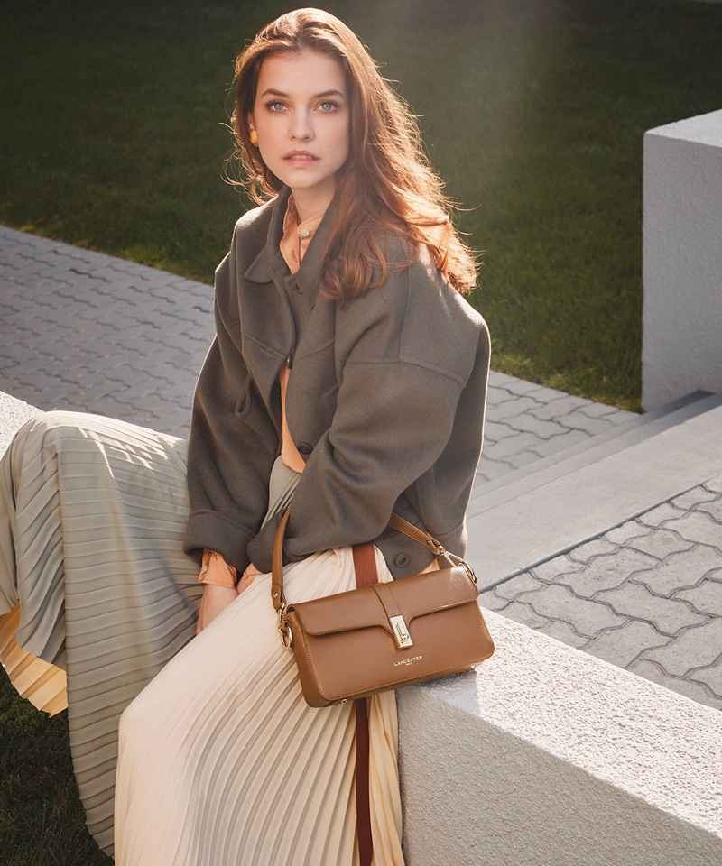 Lancaster taps Barbara Palvin to front its fall-winter 2021 campaign.