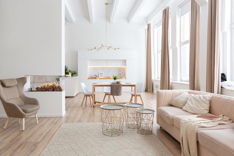 Clean Minimal House Scandinavian Style