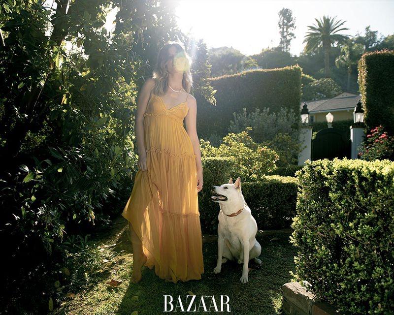 Georgia May Jagger Wears Summer Fashion for Harper's Bazaar Thailand