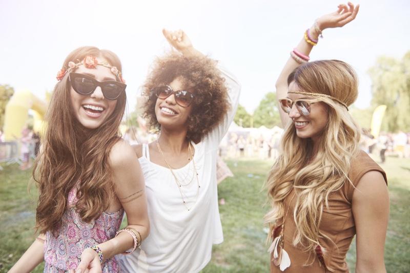 Happy Friends Music Festival Fashion