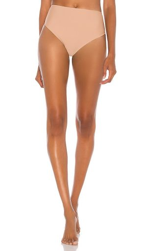 House of Harlow 1960 x REVOLVE Jill High Waist Bottom in Tan. - size S (also in XS)