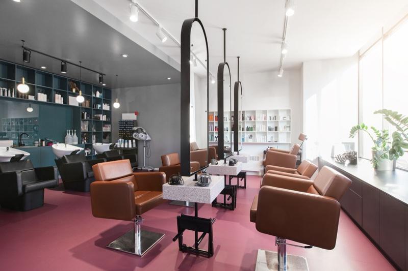 Interior Hair Salon Chairs
