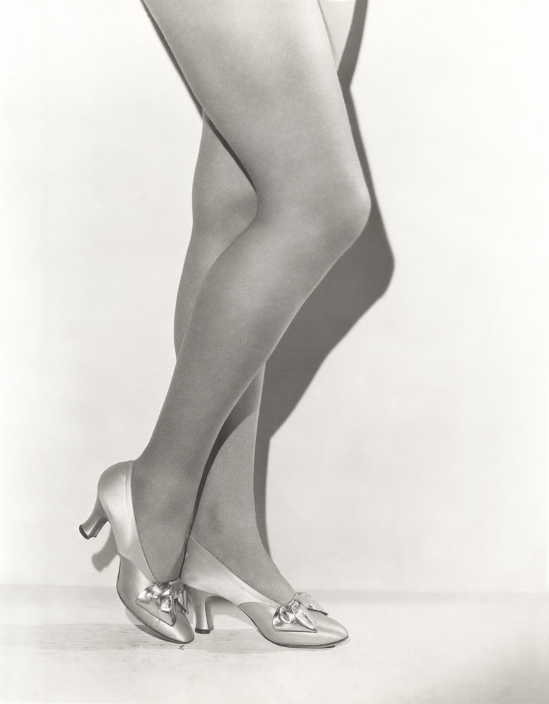 A bejeweled adorned heel would be popular during the 1930s. Photo: Shutterstock.com