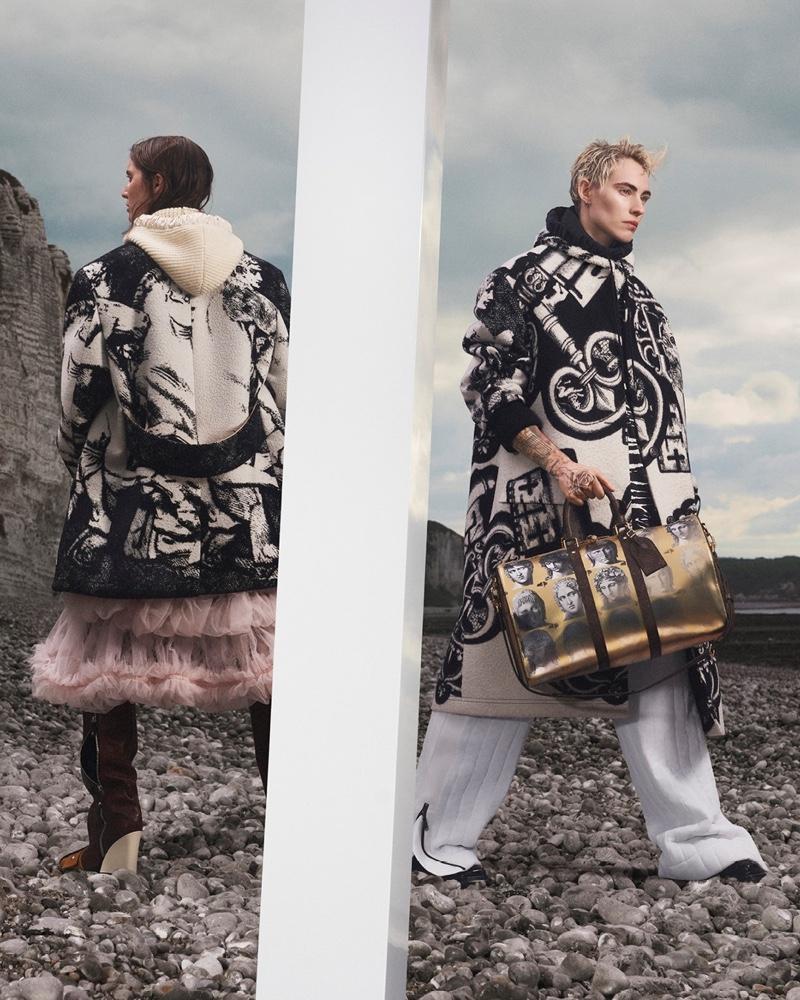 Kris DeGirolamo fronts Louis Vuitton fall-winter 2021 campaign.
