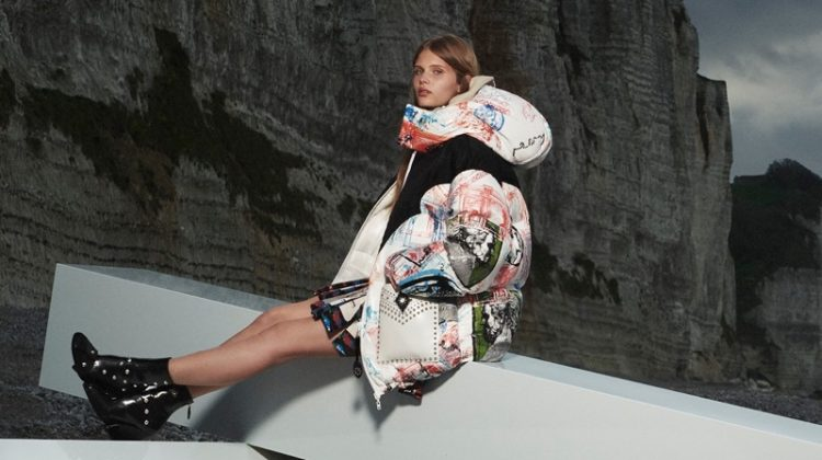 Louis Vuitton fall-winter 2021 campaign.