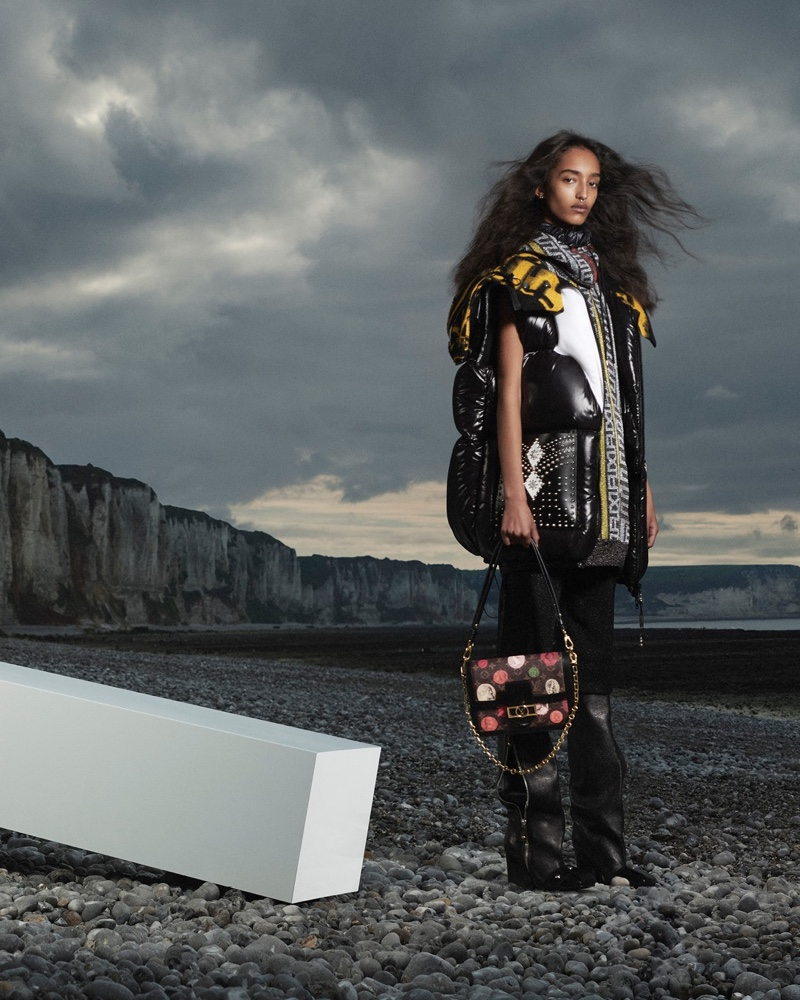 Louis Vuitton releases fall-winter 2021 campaign captured in Normandy, France.