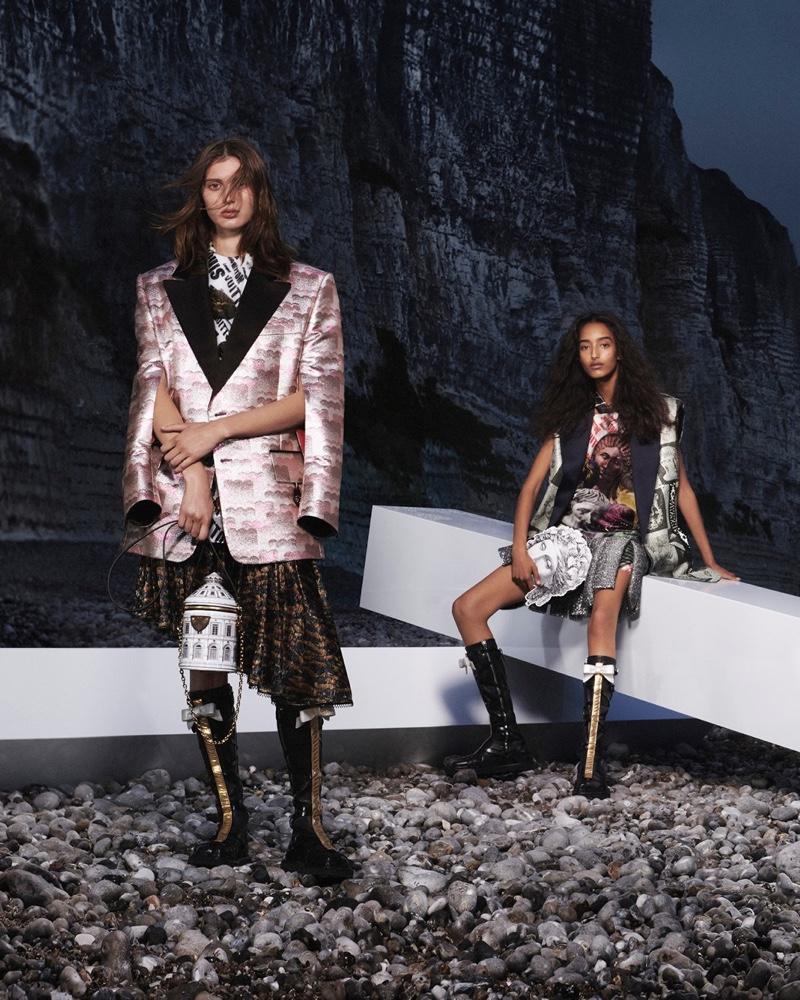 María Cósima and Mona Tougaard star in Louis Vuitton fall-winter 2021 campaign.