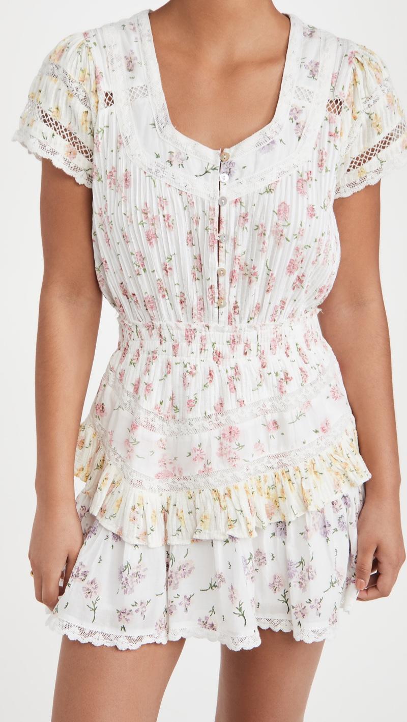 LoveShackFancy Jeromie Dress $345