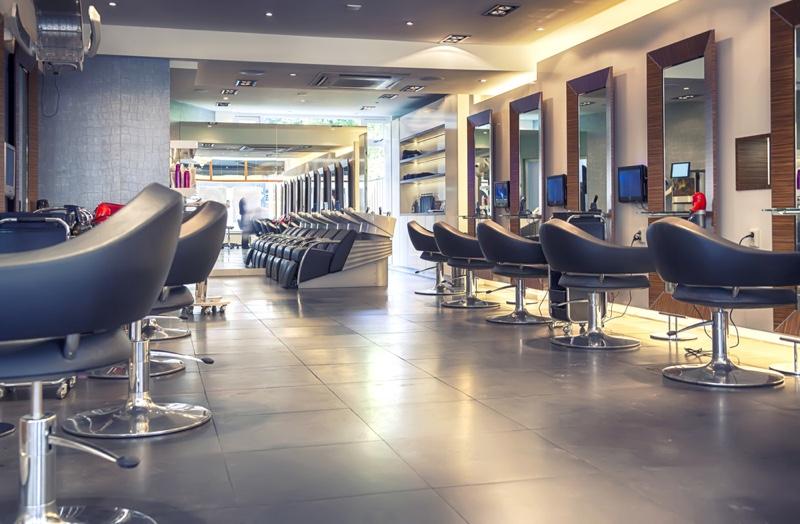 Luxury Hair Salon Chairs Interior