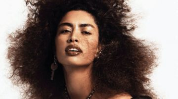 Luz Pavon Turns Up the Shine Factor for Vogue Mexico