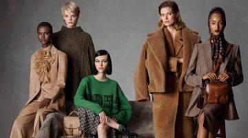 Max Mara unveils fall-winter 2021 campaign.