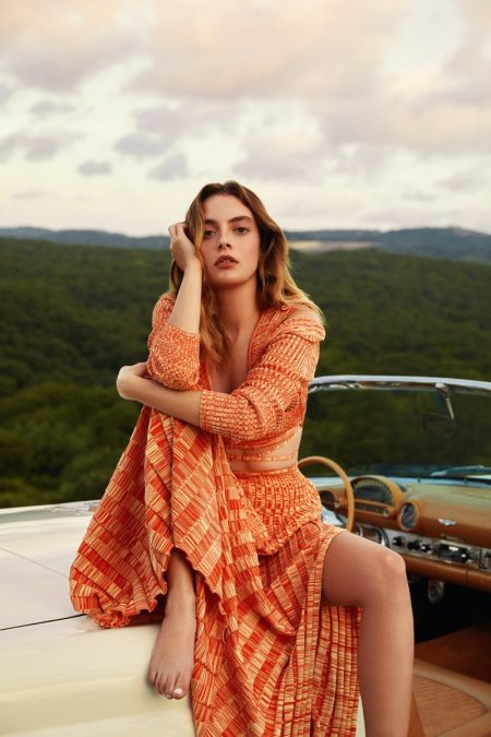 Melis Sezen Poses in Summer Outfits for InStyle Turkey