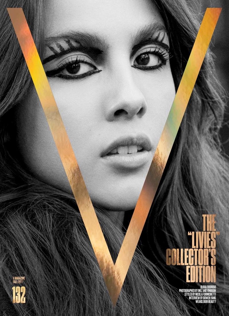 Olivia Rodrigo on V Magazine #132 Cover. Image: Courtesy of V Magazine / Inez & Vinoodh