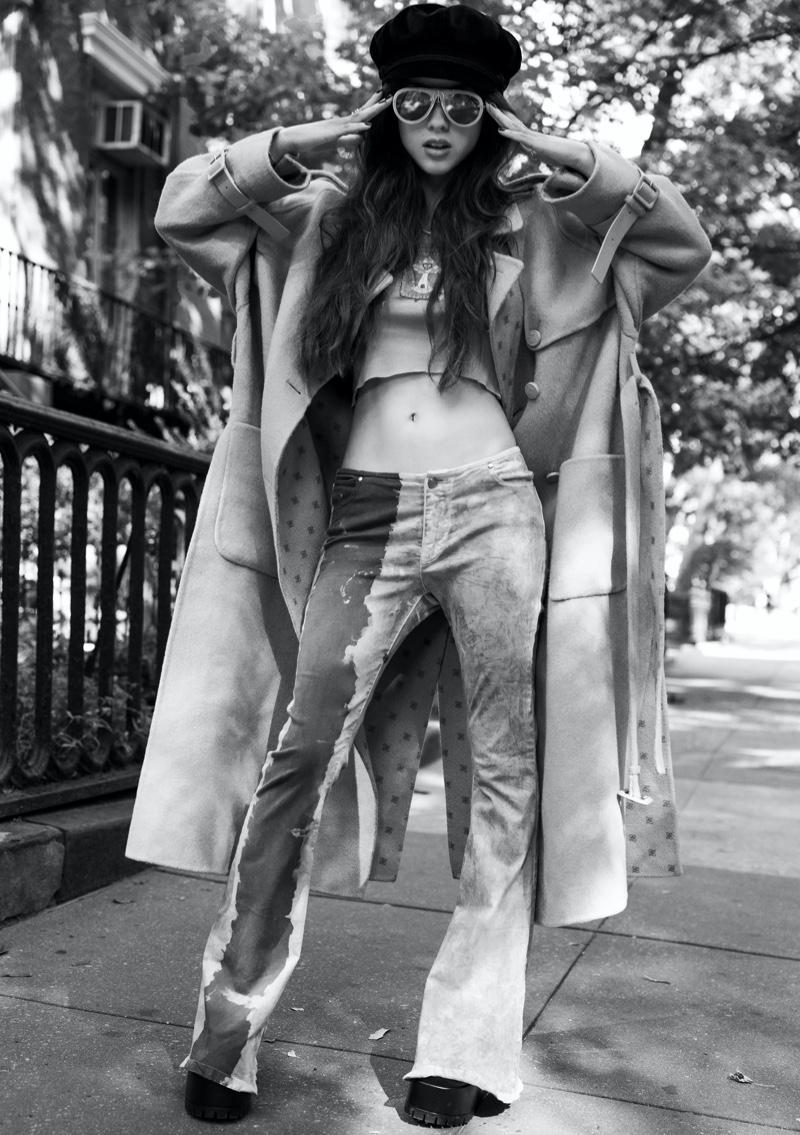 Olivia Rodrigo wears a retro look for the cover story. Image: Courtesy of V Magazine / Inez & Vinoodh