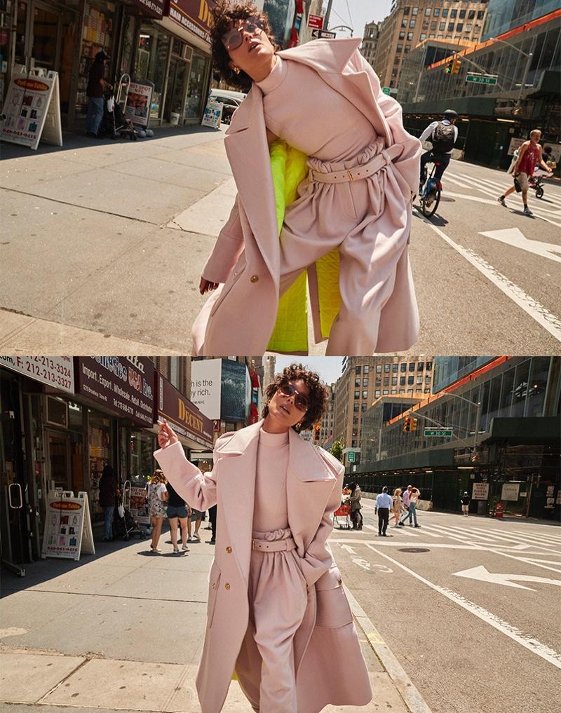 Shalom Harlow Turns Up the Glam Factor for Harper's Bazaar Spain