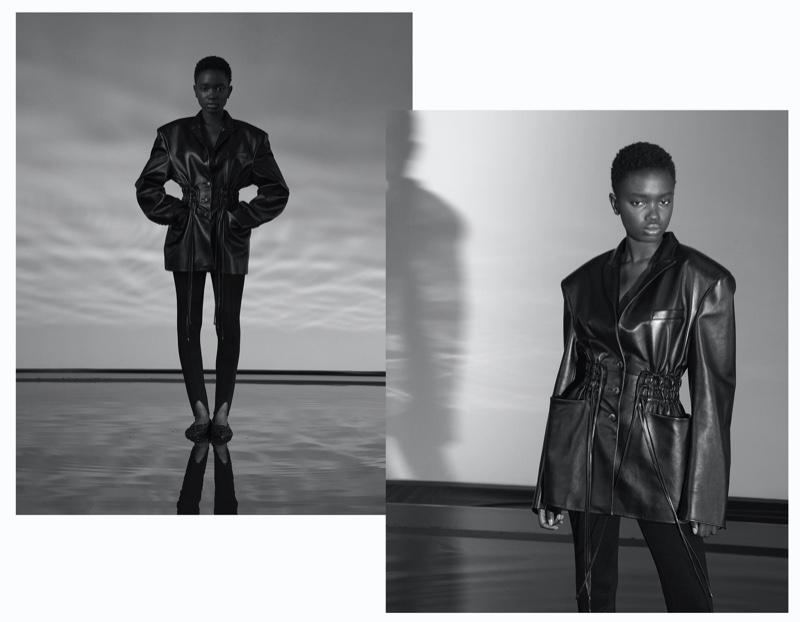 Hanna, Mariama, Kristina Model Stylebop Looks  for Vogue Germany