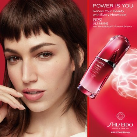 Shiseido unveils Power is You campaign. Photo: Frauke Fischer-Ikeda