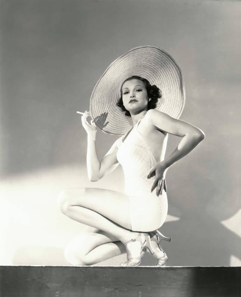 A low back swimsuit was trending for the 1930s. Photo: Shutterstock.com