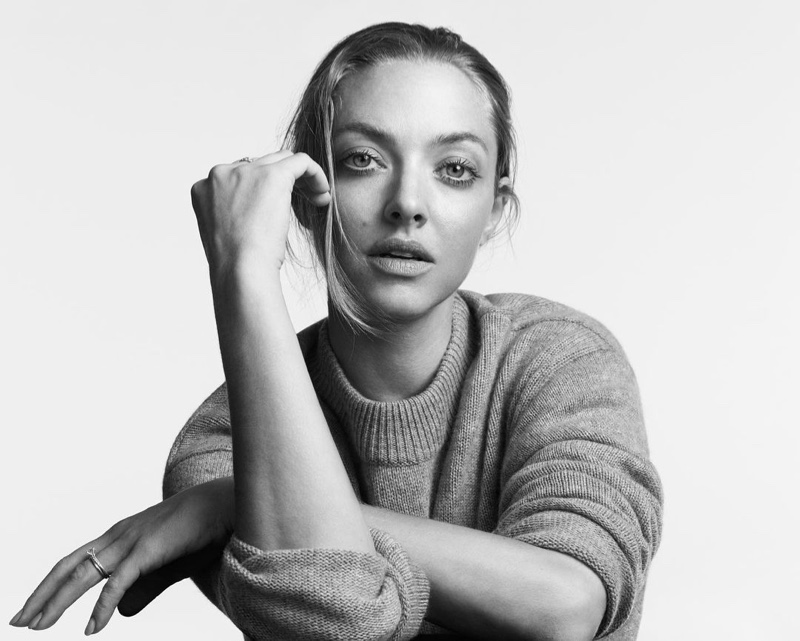 Amanda Seyfried stars in Theory Fall 2021 In Pursuit of Tomorrow campaign.