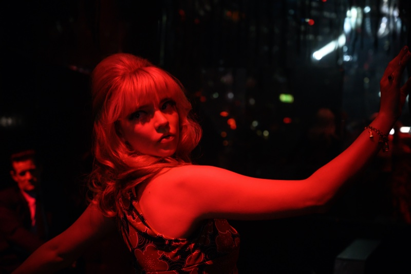 With a 1960s hairstyle, Anya-Taylor Joy stars as Sandie in LAST NIGHT IN SOHO. | Photo Credit: Parisa Taghizadeh / © 2021 Focus Features, LLC