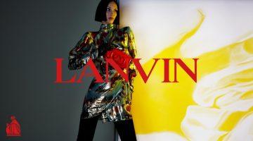Bella Hadid stars in Lanvin fall-winter 2021 campaign.