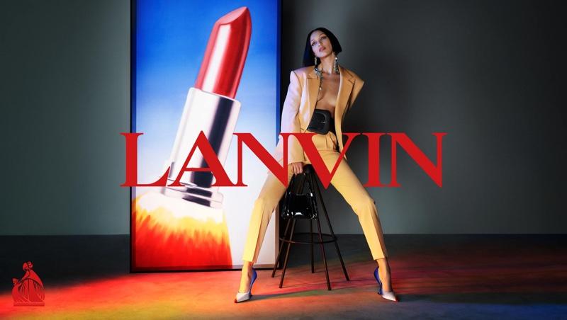 Lanvin launches fall-winter 2021 campaign.