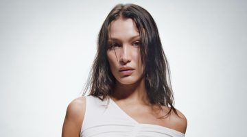 Bella Hadid is the face of Self-Portrait's spring-summer 2021 campaign.