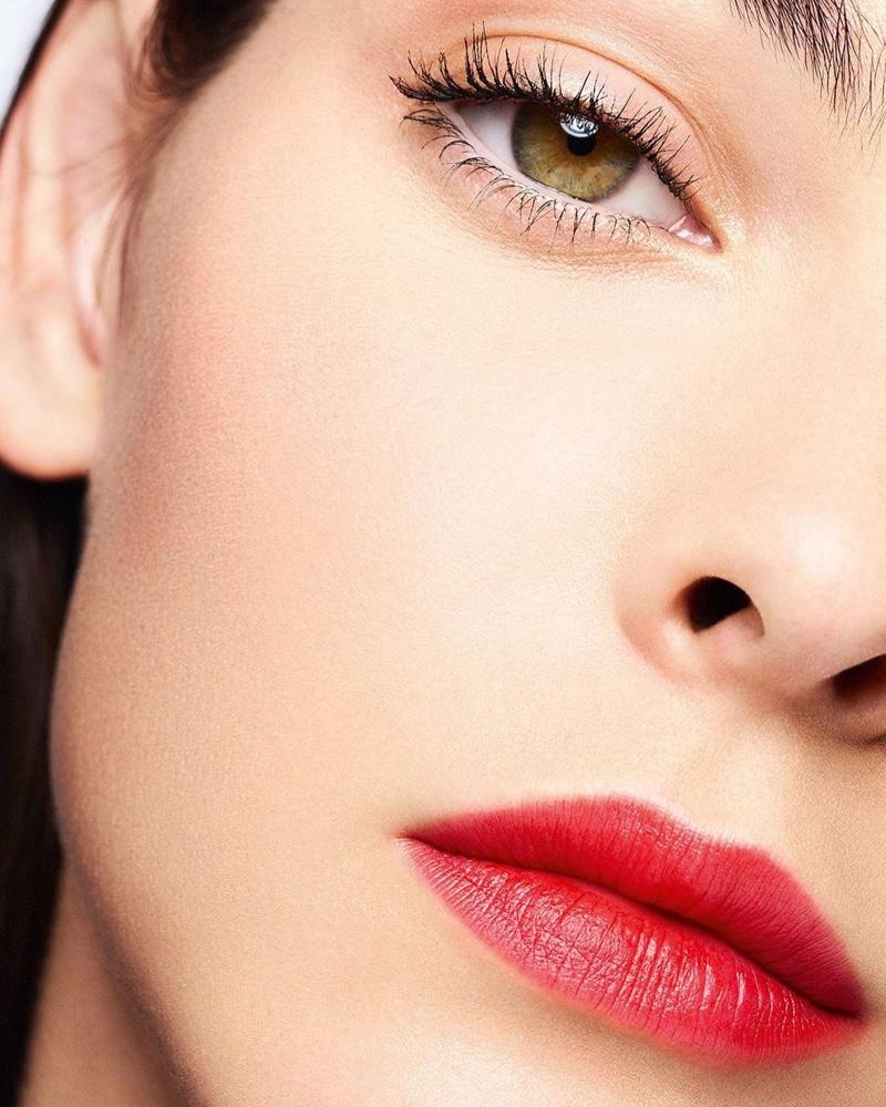 Vittoria Ceretti for Chanel Ultra Le Teint Foundation campaign.