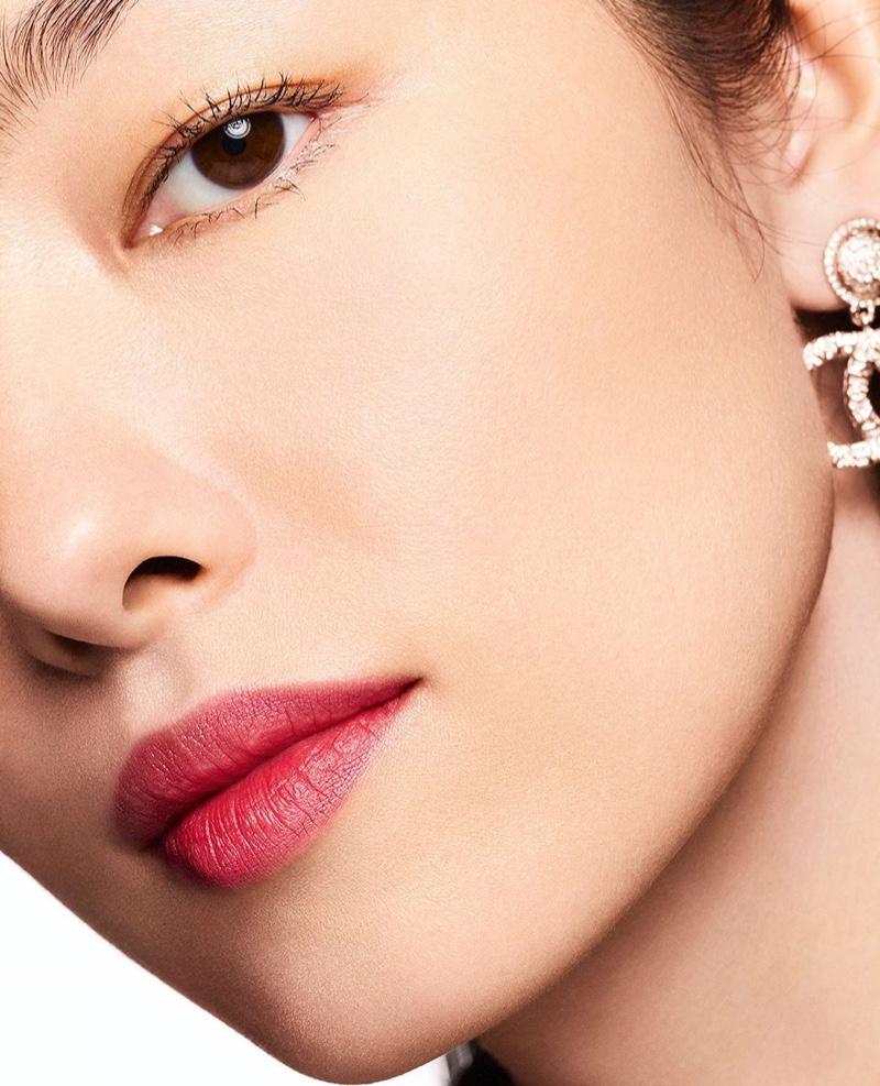 Fei Fei Sun for Chanel Ultra Le Teint Foundation campaign.