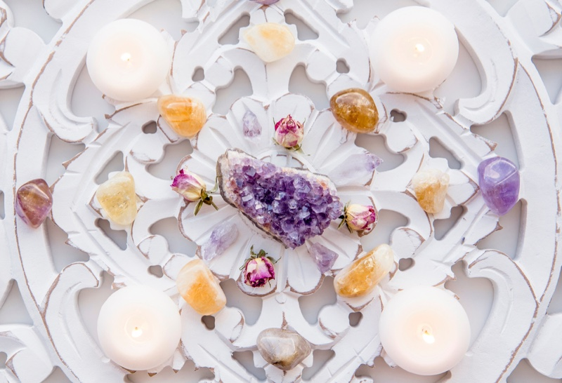 Crystal Decor Candles