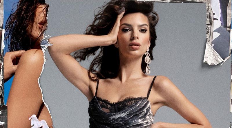 Emily Ratajkowski stars in DUNDAS x REVOLVE campaign.
