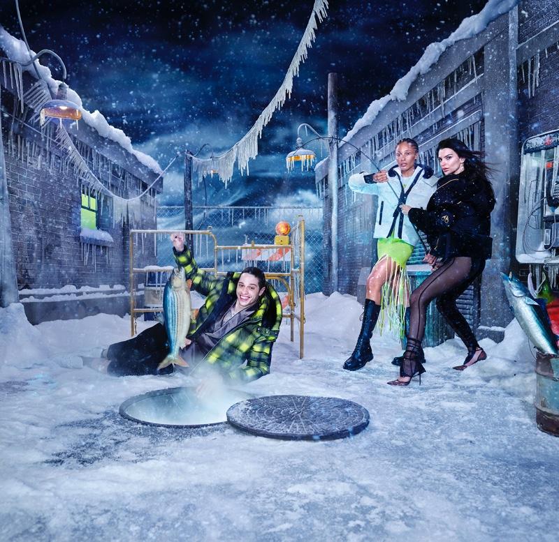 Moose Knuckles unveils fall-winter 2021 campaign with Pete Davidson, Adwoa Aboah, and Emily Ratajkowski.