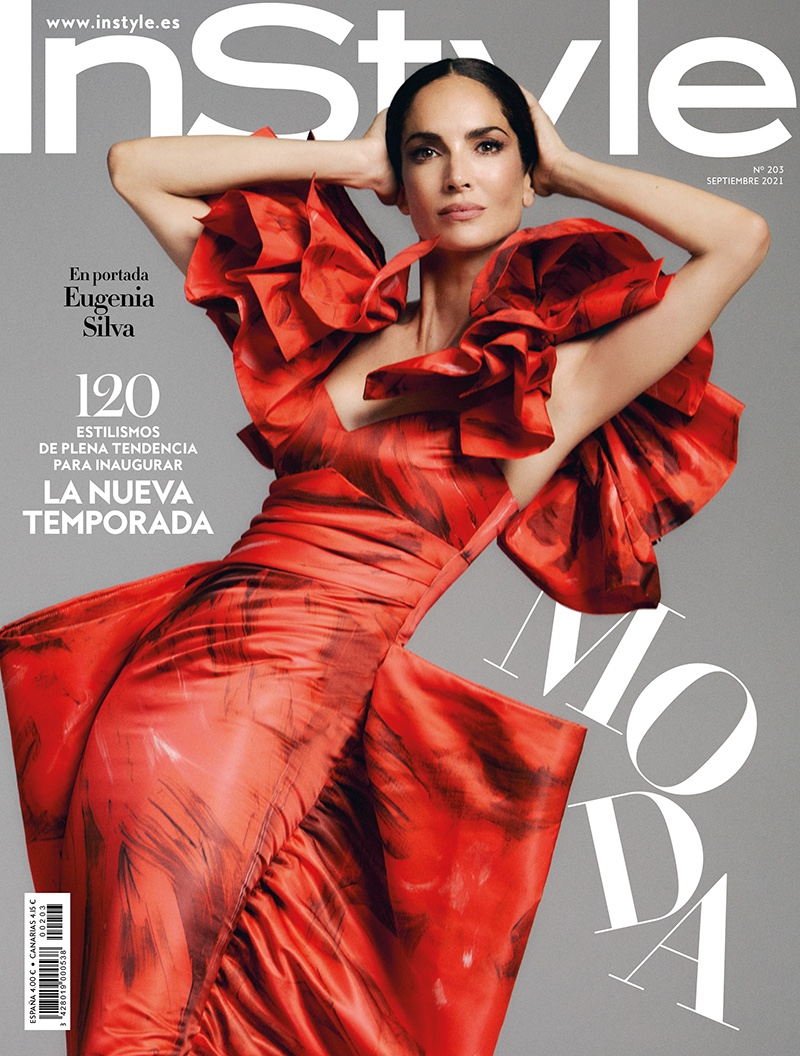 Eugenia Silva Wears Dramatic Designs for InStyle Spain