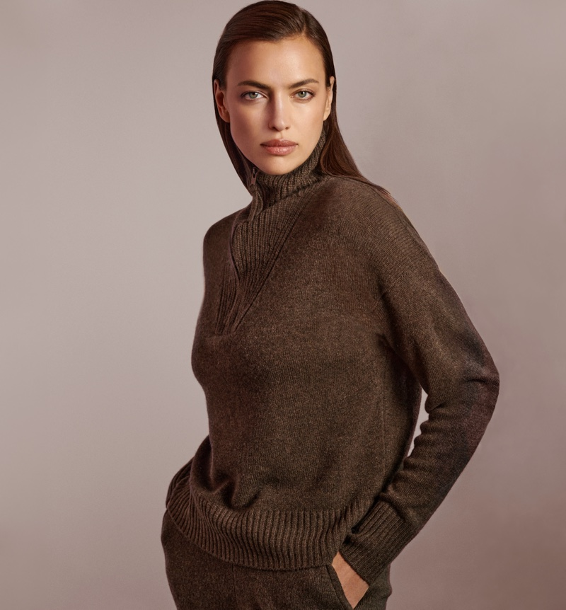 NAKEDCASHMERE highlights Poppey pullover in fall 2021 campaign.