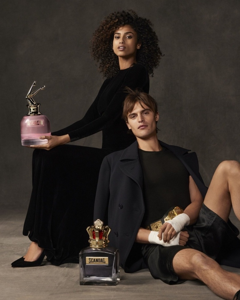 Jean Paul Gaultier unveils Scandal fragrance for men and women.