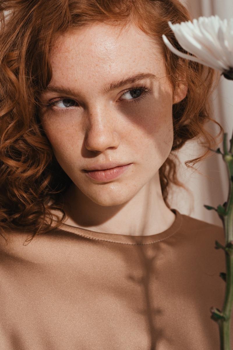 Jona Gudmundsdottir Is a Natural Beauty for ELLE Norway