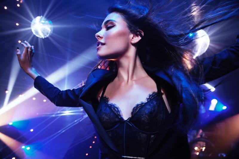 Singer Madison Beer fronts Victoria's Secret Tease Candy Noir fragrance campaign.
