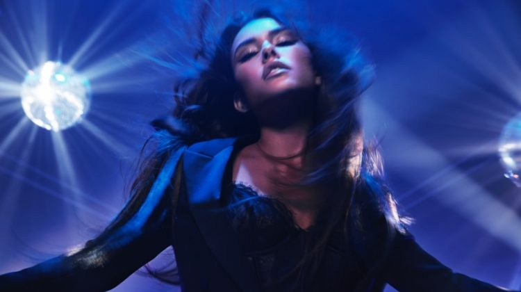 Madison Beer is the face of Victoria's Secret Tease Candy Noir eau de parfum campaign.