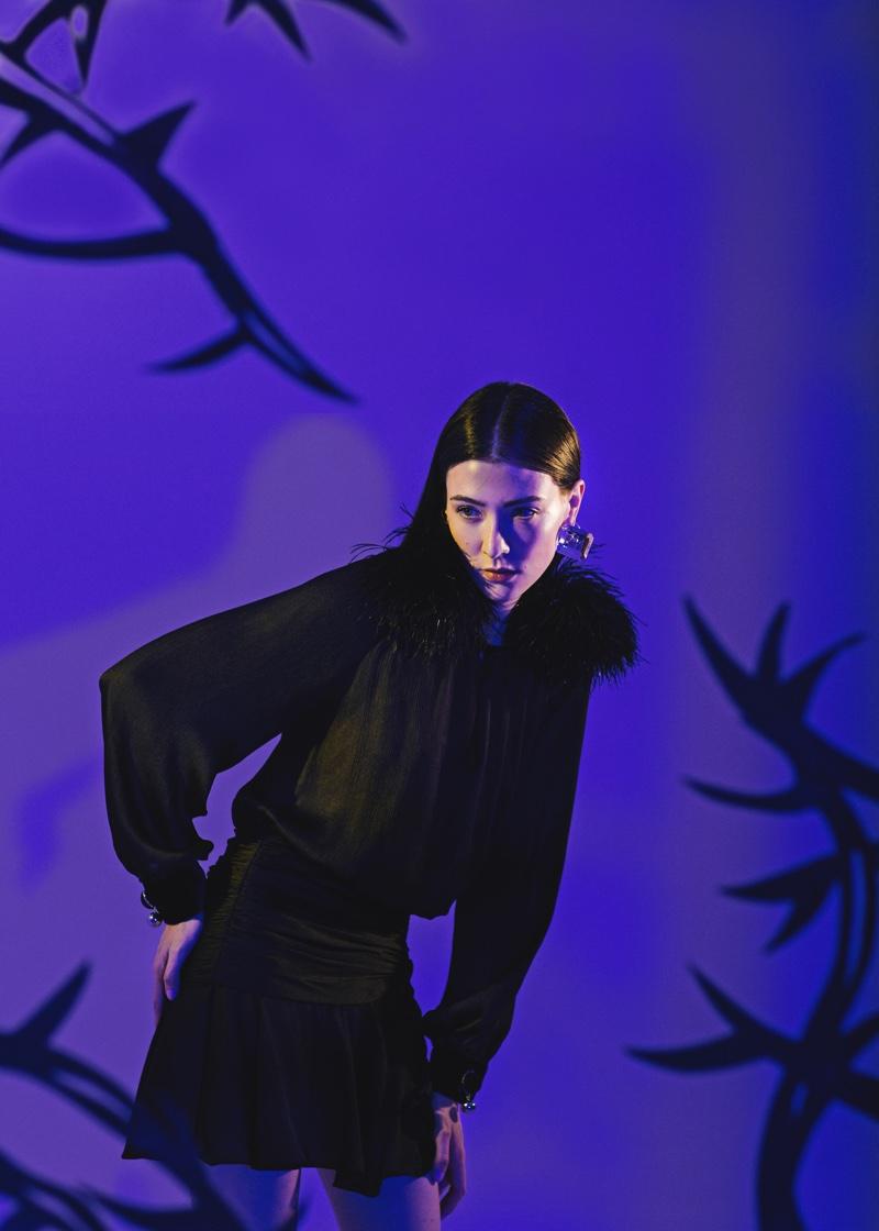 Mar González Models Gothic Fashion for Numéro Russia