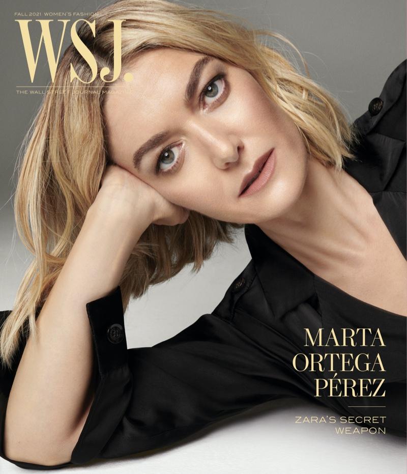 Marta Ortega Pérez on WSJ. Magazine Fall 2021 Digital Cover. Photo: Steven Meisel for WSJ. Magazine
