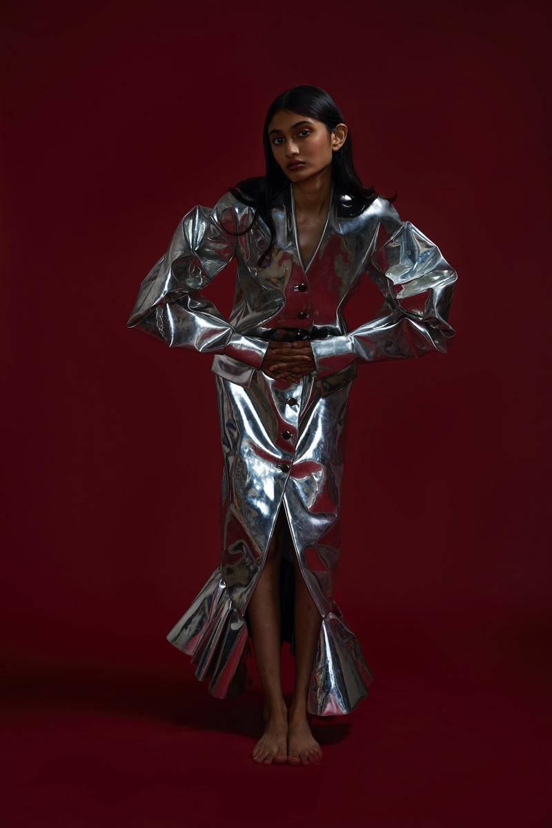 Nandini Poses in New Season Looks for Grazia India
