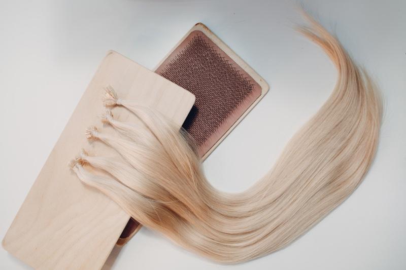 Nano Bead Blonde Hair Extensions